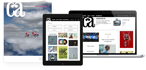 Communication Arts Print+Digital Subscription Offer